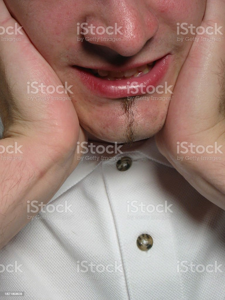 Stressed Out royalty-free stock photo