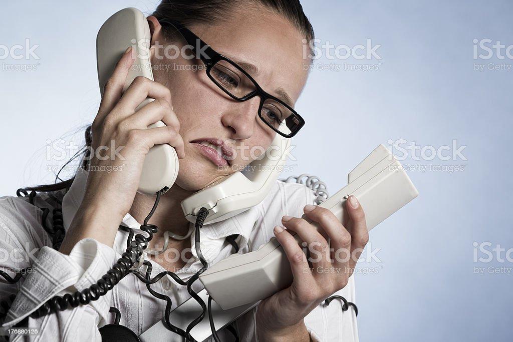 Opérateur de téléphone après - Photo