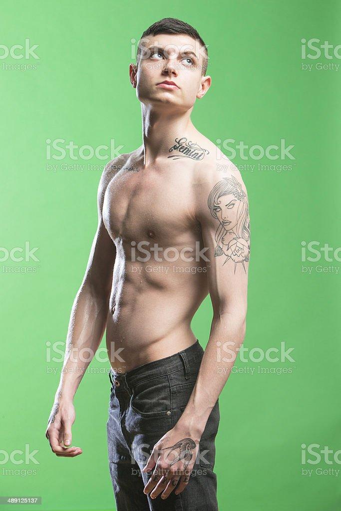 Amateur skinny nude girl