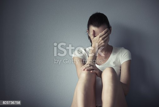 istock Stressed woman 825736758