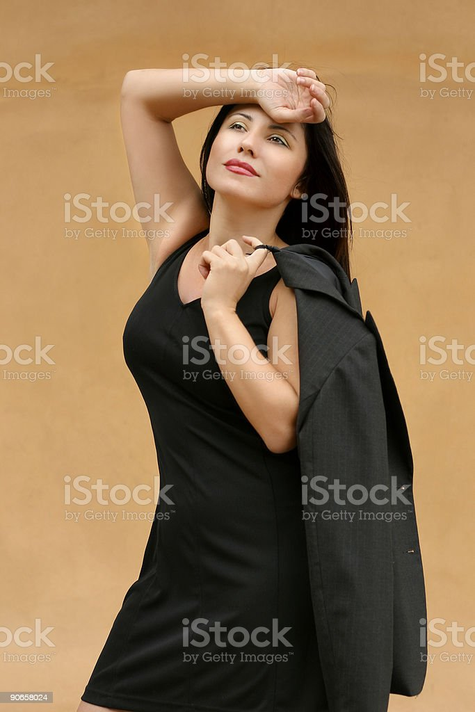 Stressful day royalty-free stock photo