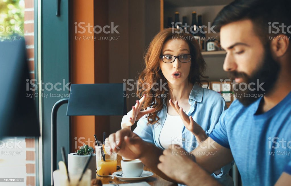 Stressful Moments stock photo