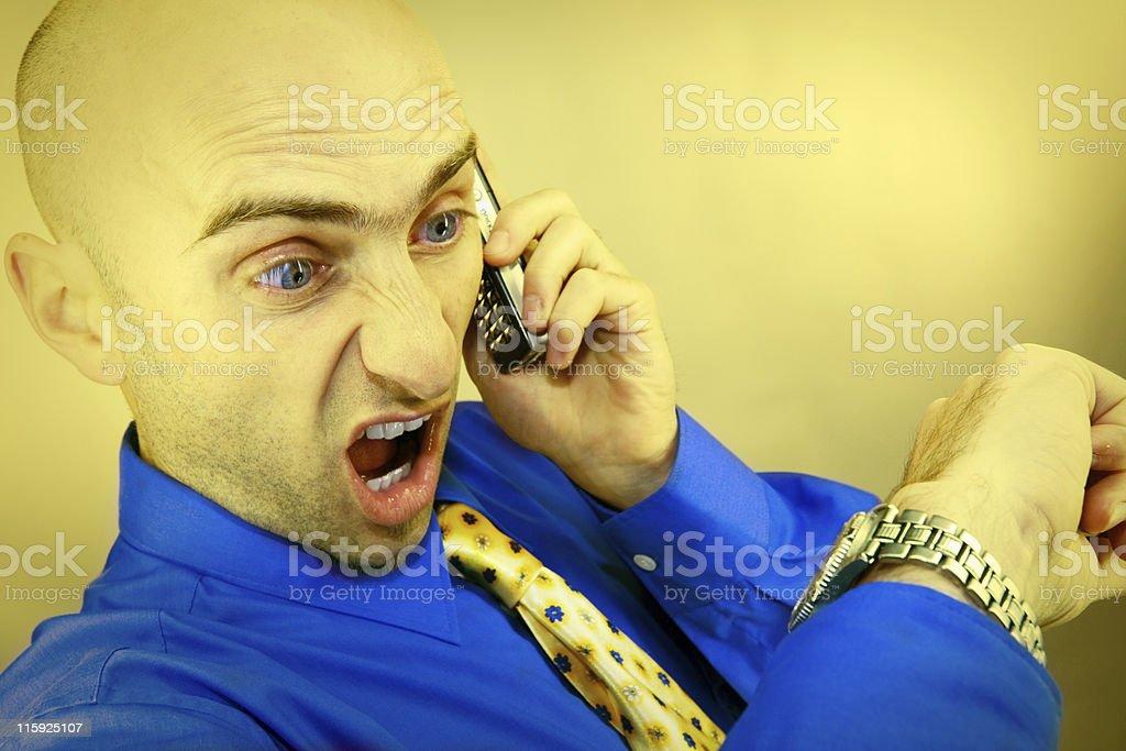 stressman stock photo