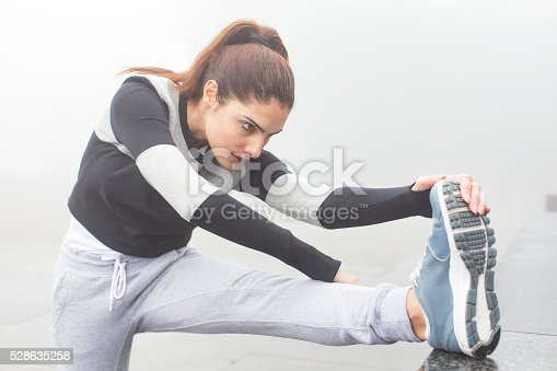 istock Stretch and avoid injury 528635258