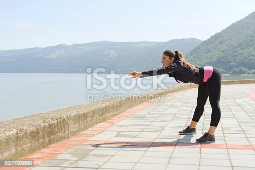 512749661 istock photo Stretch and avoid injury 537703890