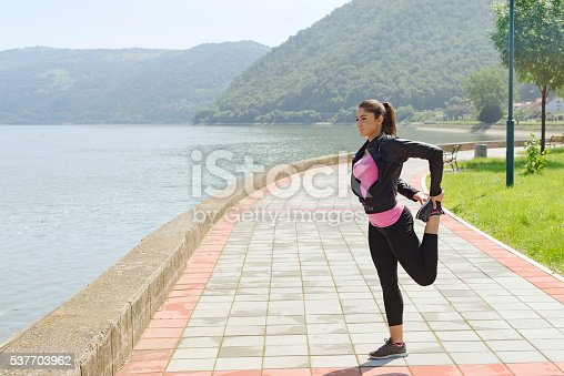istock Stretch and avoid injury 537703962