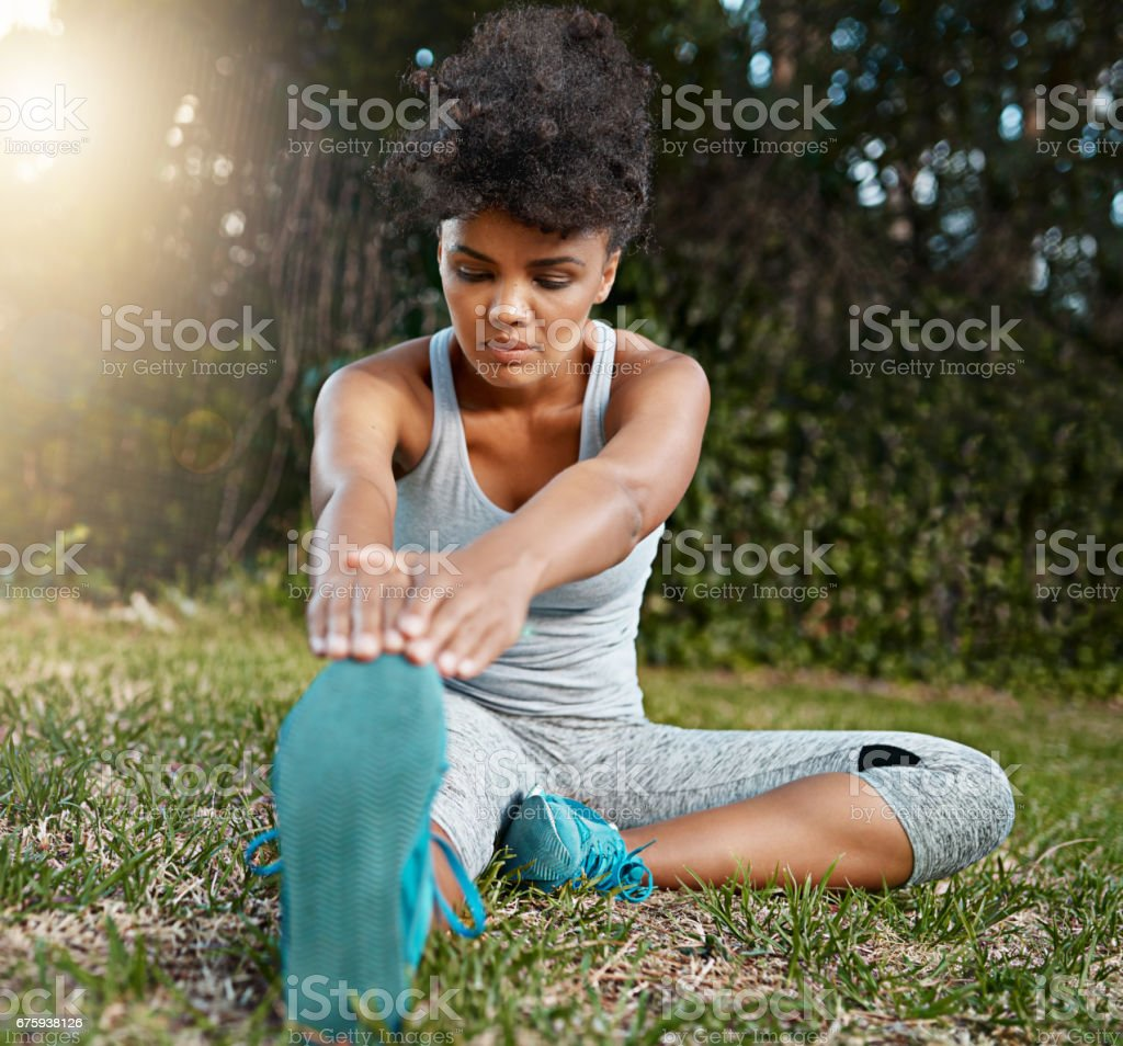 Stretch your limits if you can stock photo