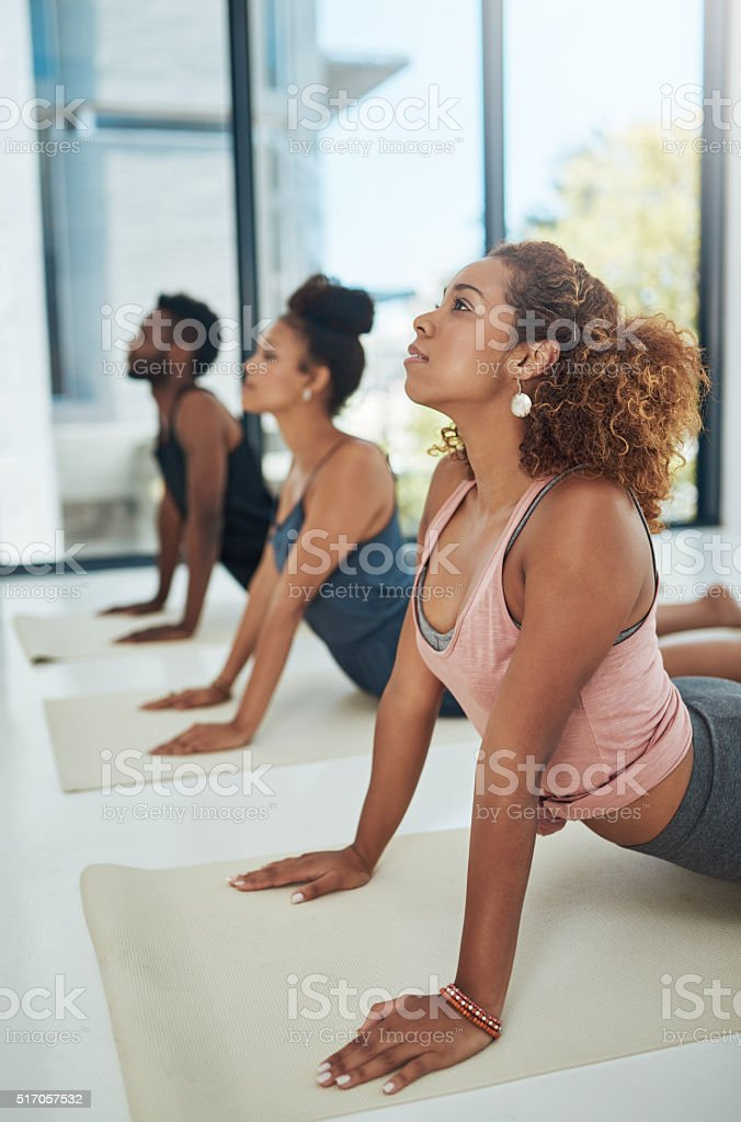 Stretch your mind stock photo