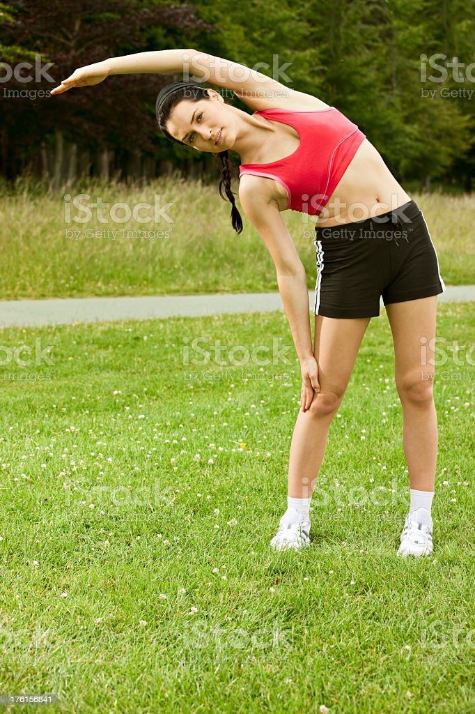 Stretches royalty-free stock photo
