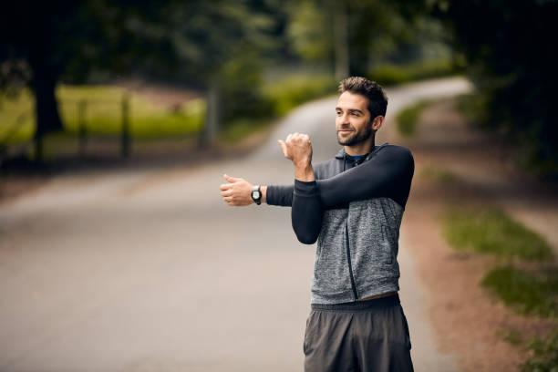 Stretching für einen besseren Lauf – Foto
