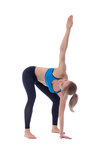istock Stretching of pectorals, adductors and superior muscles zone 677342168