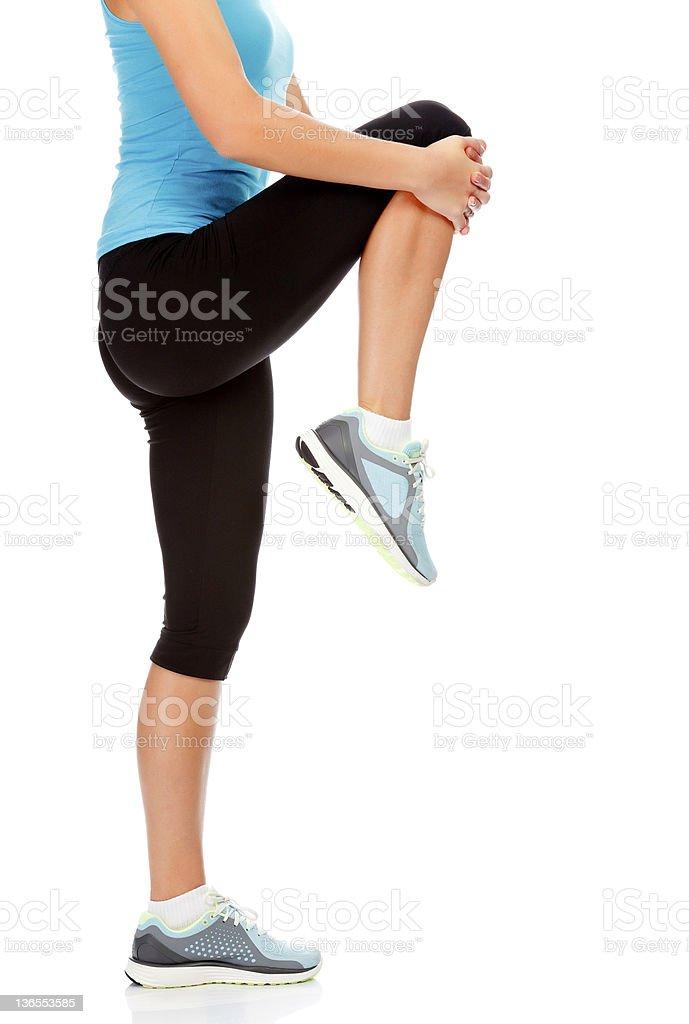 Estiramiento (Stretching) - foto de stock
