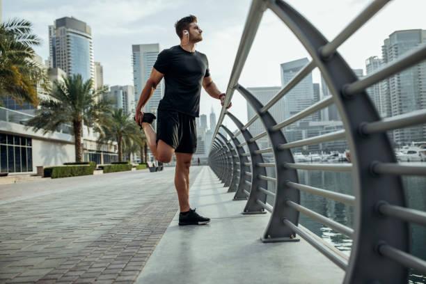 Dehnen Sie diese Muskeln, bevor Sie die Straße – Foto