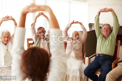istock Stretching to keep their muscles warmed up 467597843