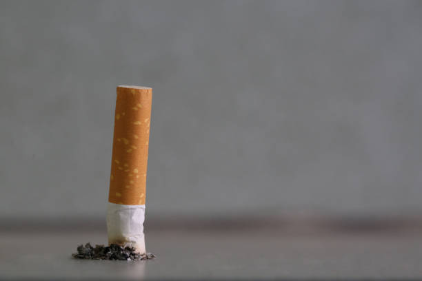 Strictly abstain from smoking Strictly abstain from smoking nicotine stock pictures, royalty-free photos & images