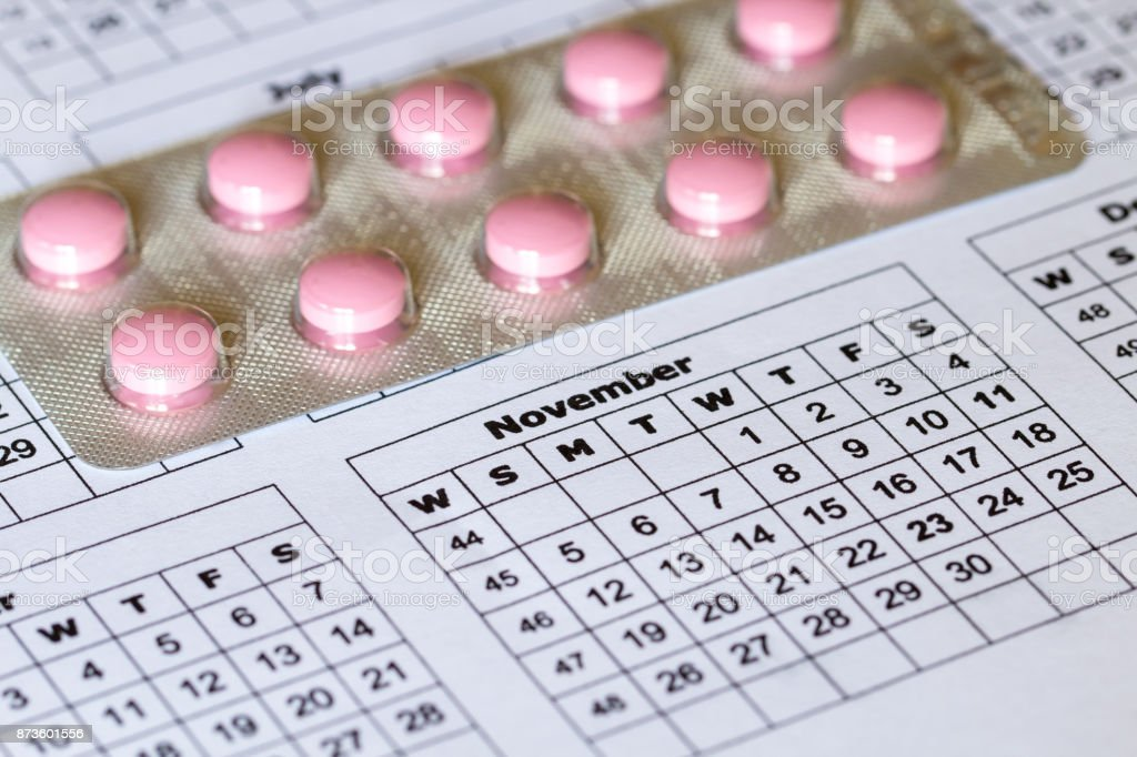 Strictly by prescription tablets reception and dates stock photo