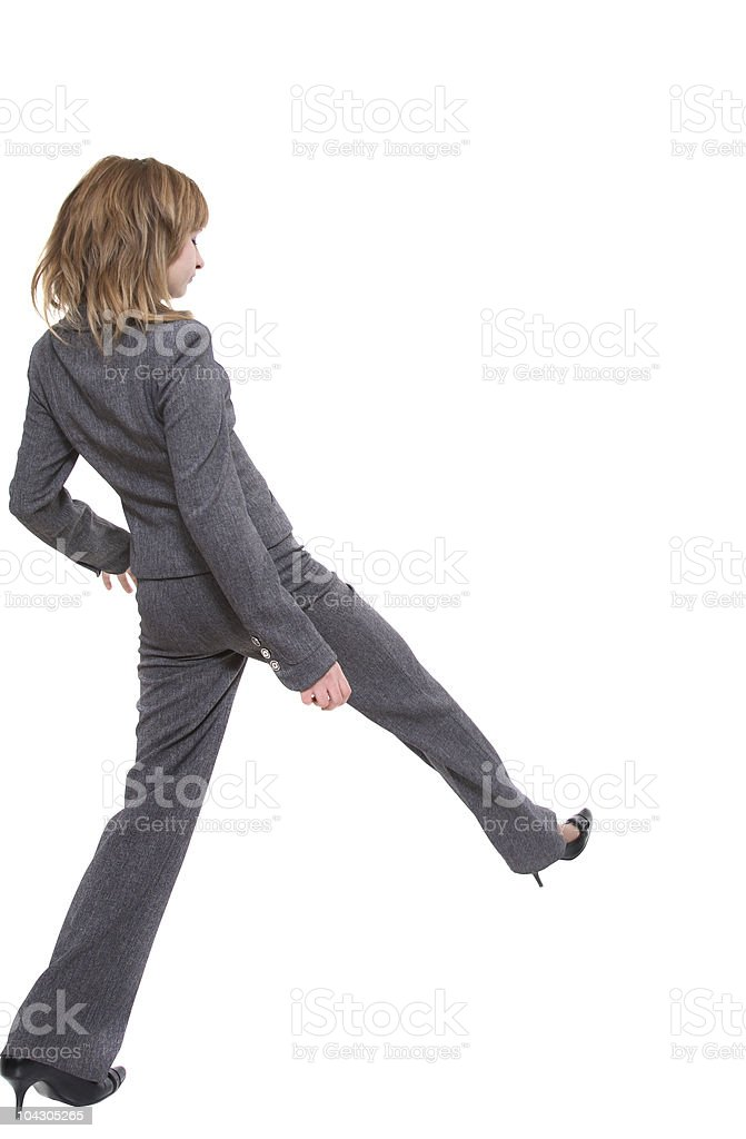 Stride stock photo