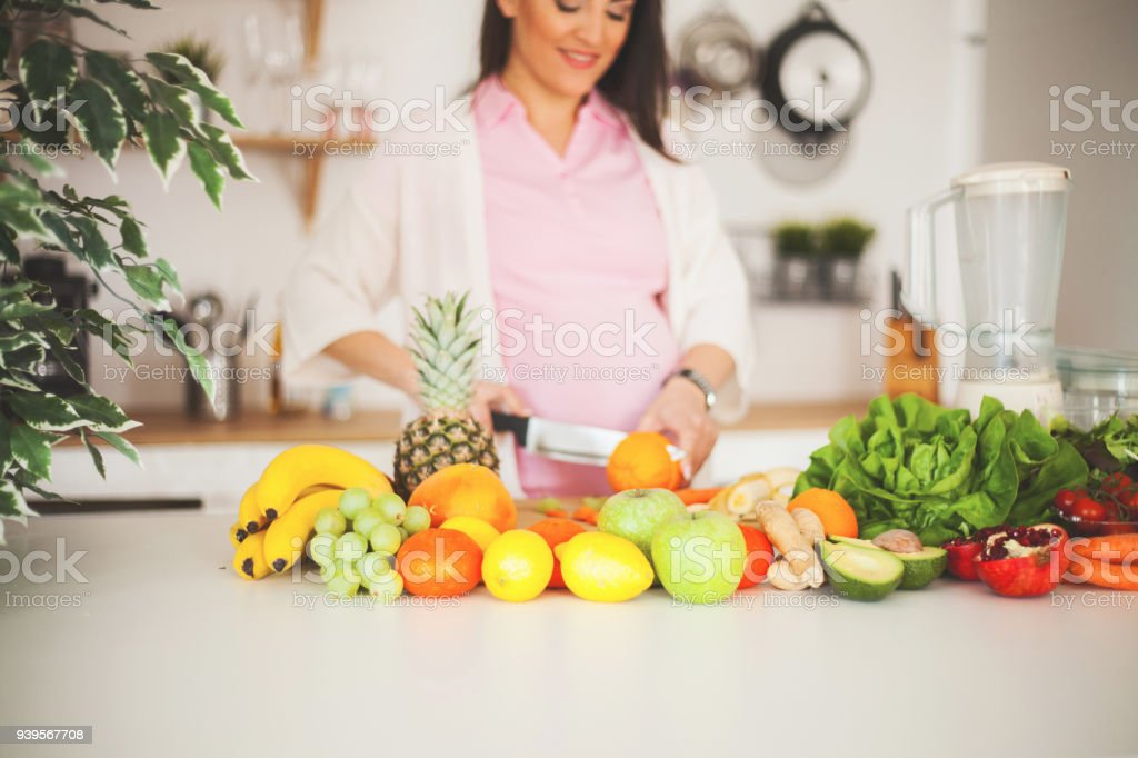 Strike a balance between healthy weight gain and nutritional intake stock photo