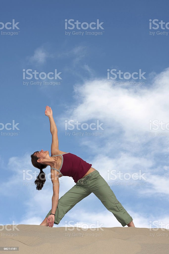 Strike a Pose royalty-free stock photo