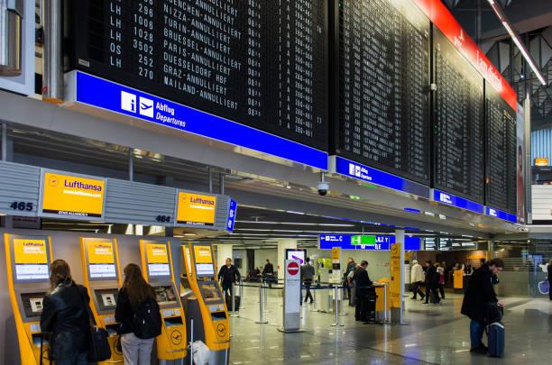 Grève à l'aéroport de Francfort - Photo