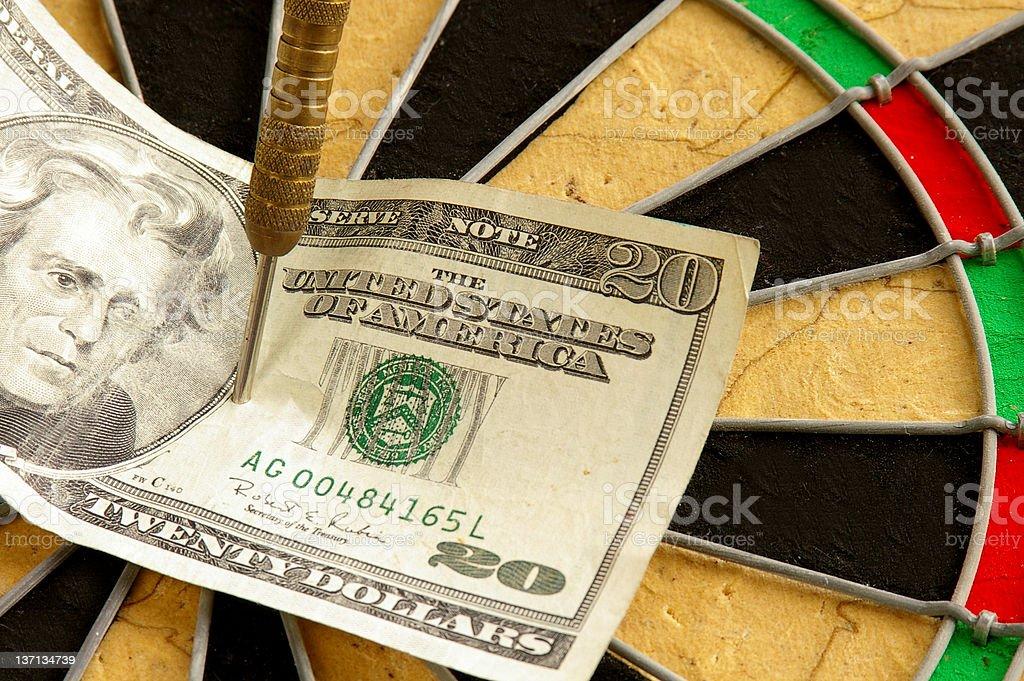 Strike it rich royalty-free stock photo