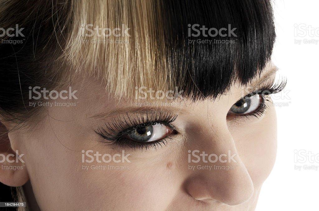 Blick auf die Augen