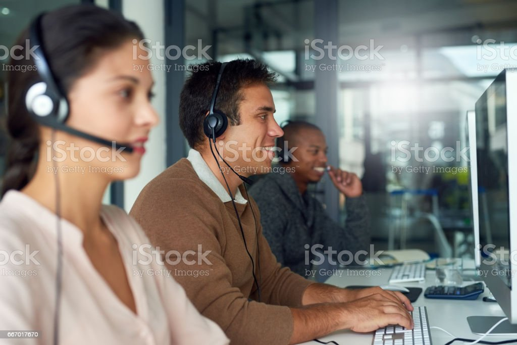Striking sales one after another stock photo