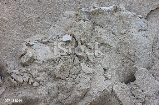 istock striking sand pile. sand texture for background. Seamless abstract
