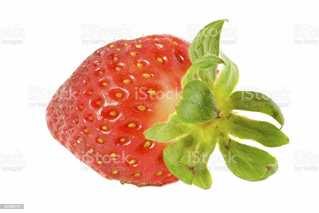 Striking Strawberry royalty-free stock photo