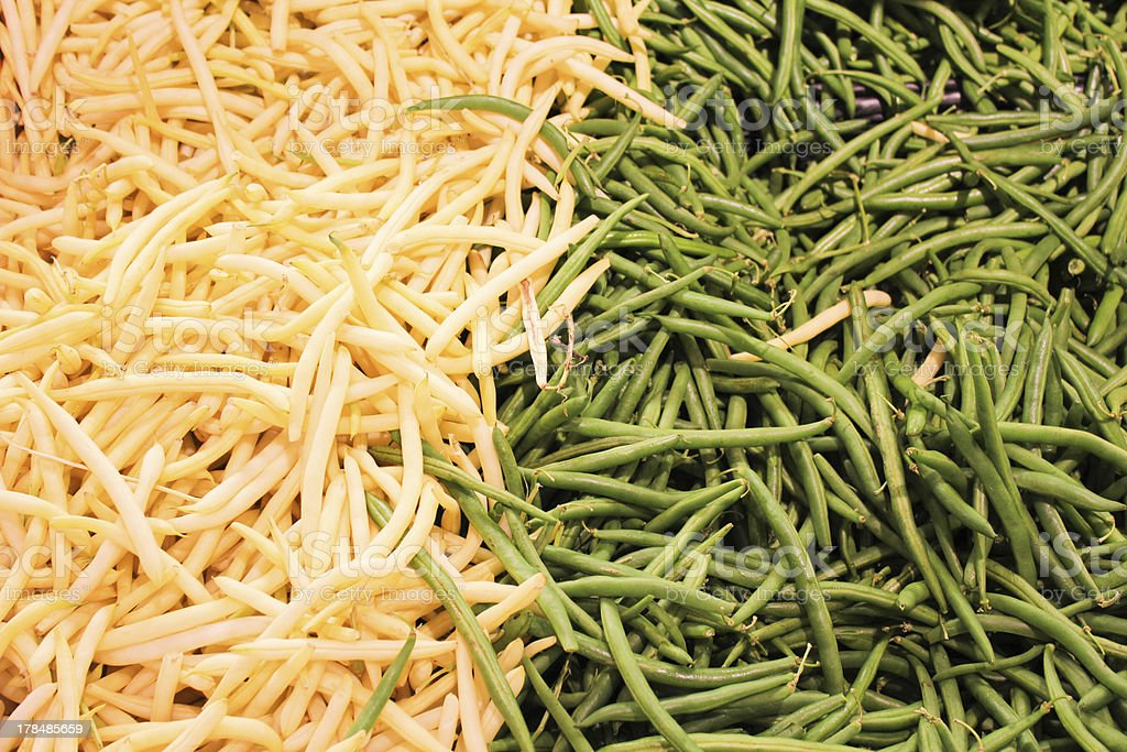 String Beans royalty-free stock photo