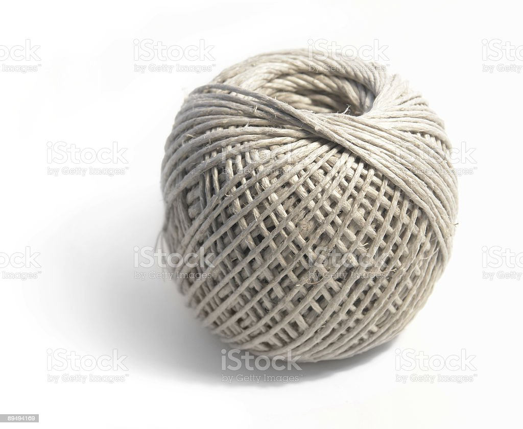 string coil royalty-free stock photo