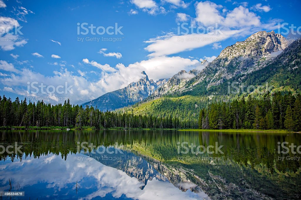 String Lake stock photo