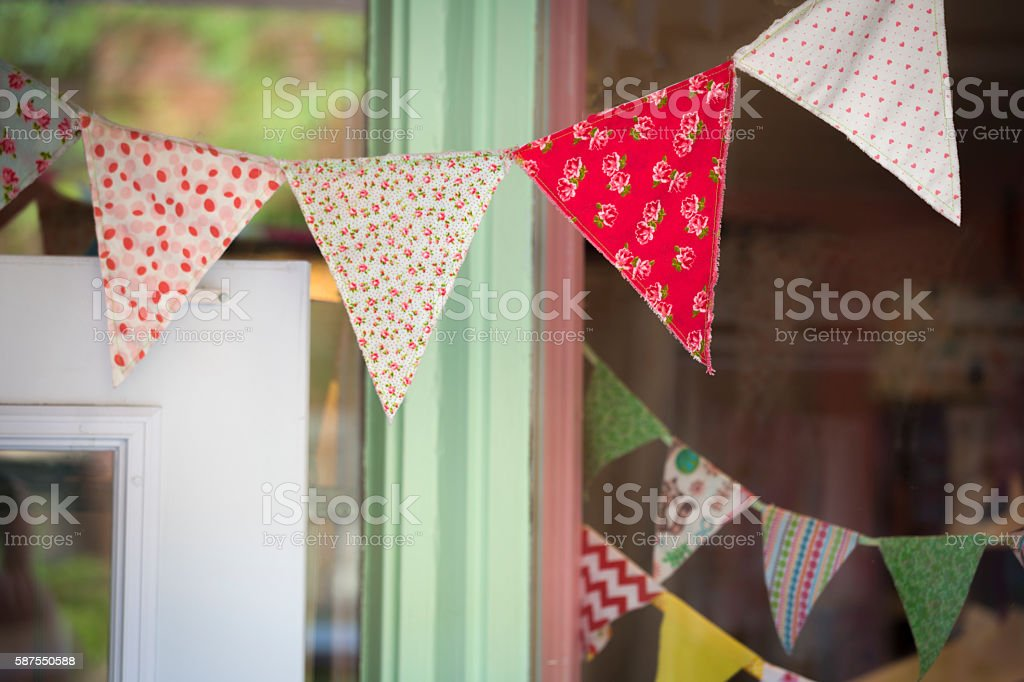 String of Pennant stock photo