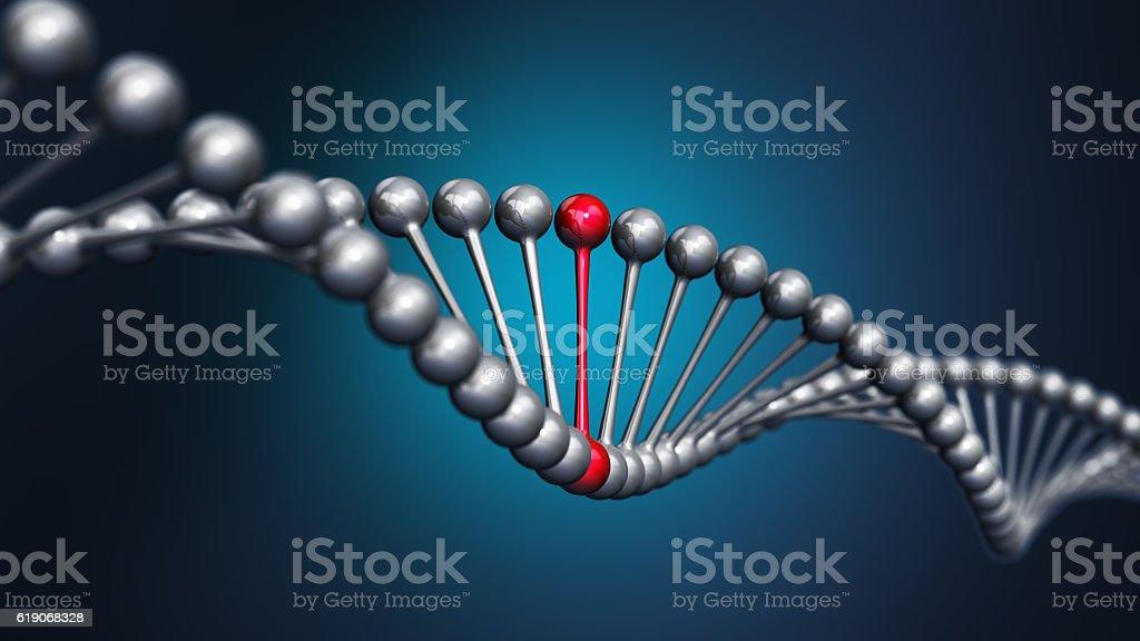 3D DNA string – zdjęcie
