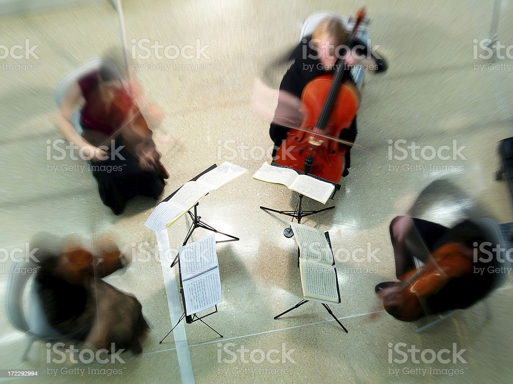 String quartet stock photo