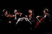 String quartet  My other photo and video files on music and dance theme