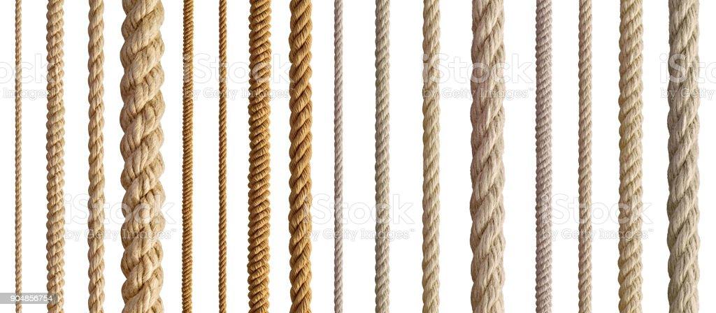 string aus Flechtgewebe Kabel Linie – Foto