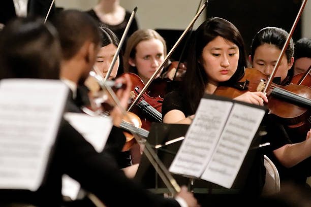 String Section Philadelphia Sinfonia Youth Orchestra
