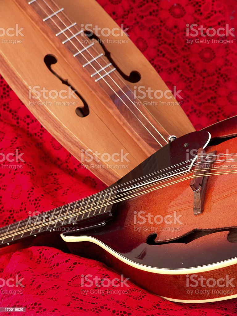 Stringed Instruments stock photo