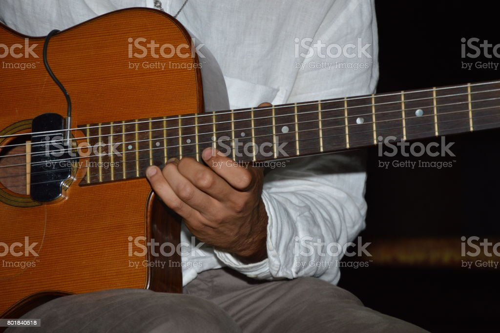 A Stringed music instrument stock photo