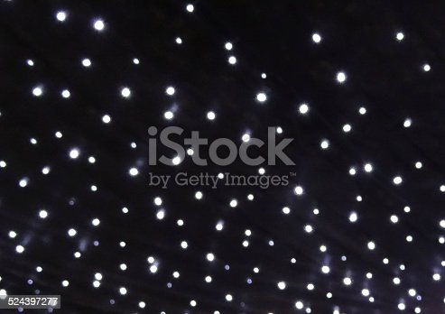 Strings Of White Christmas Lights Background Led Fairy Image Stock Photo More Pictures Abstract