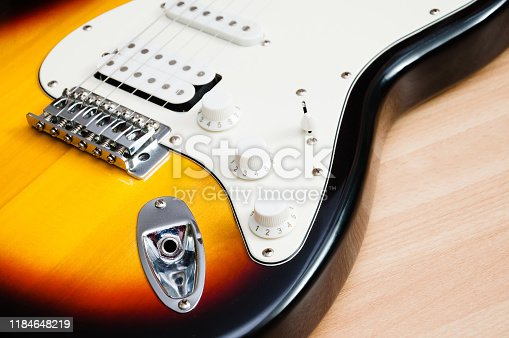 1014432572istockphoto strings on an electric guitar 1184648219