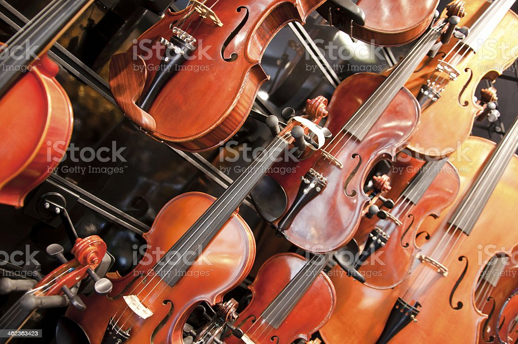 Strings stock photo