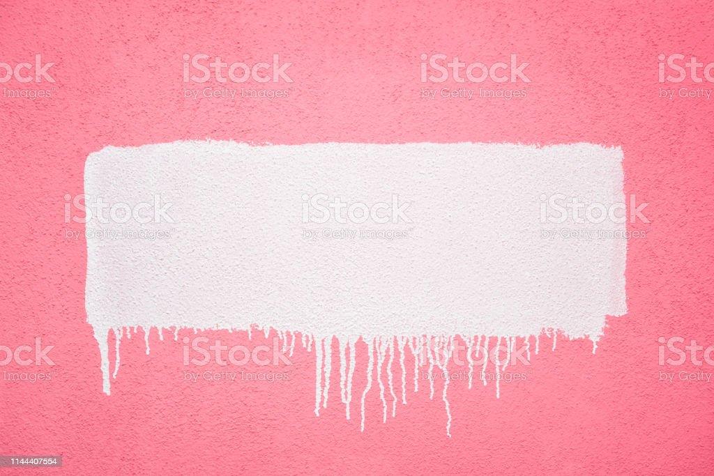 Photo Libre De Droit De Bande De Peinture Blanche Dans Un