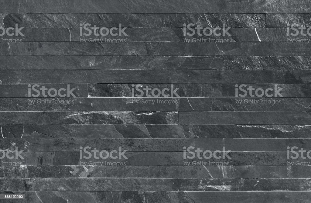 Strip parallels stone wall cladding seamless texture stock photo