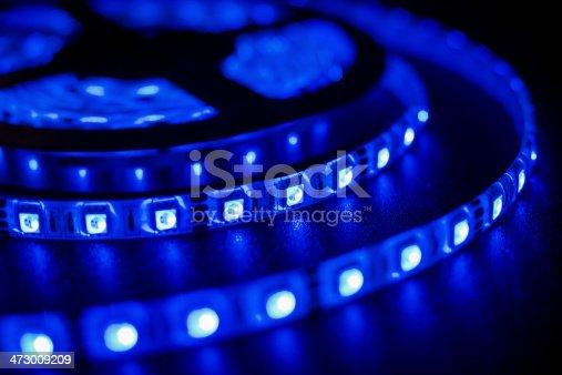LED strip blue