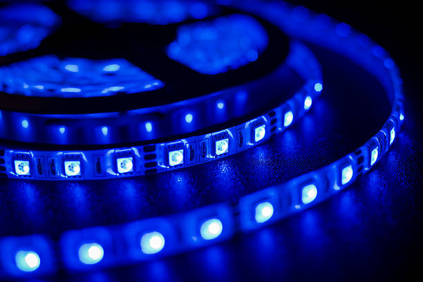 led strip - fluorescent light stock pictures, royalty-free photos & images