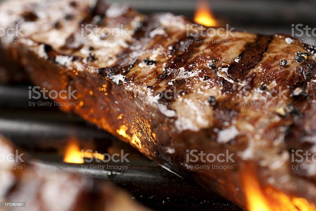 NY Strip Steak royalty-free stock photo