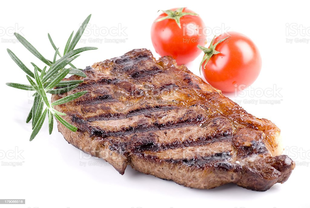 Strip Steak royalty-free stock photo