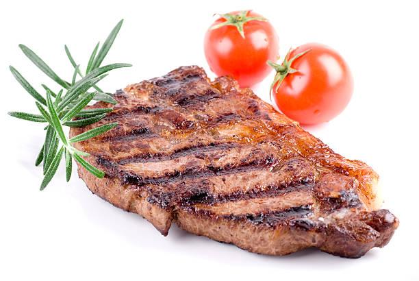 Strip Steak bildbanksfoto